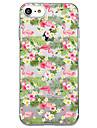 아이폰 7 플러스 7 케이스 커버 투명 패턴 다시 커버 케이스 홍학 꽃 소프트 tpu 아이폰 6s 플러스 6s 6 플러스 6 5s 5 se