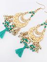 Women\'s Stud Earrings Drop Earrings Hoop Earrings JewelryBasic Unique Design Logo Style Pendant Tassel Friendship Religious Jewelry