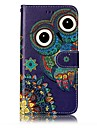 For Huawei P10 Lite P8 Lite2017 Case Cover Card Holder Wallet Embossed Pattern Full Body Case Owl Hard PU Leather for P10 Plus P10 P9 Lite P8 Lit