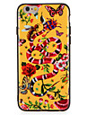 Case For Apple iPhone7 7 Plus  Flower Butterfly Animal Pattern Hard PC  For iPhone 6s Plus 6 Plus 6s 6