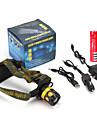 Налобные фонари LED 900 Люмен 4.0 Режим Cree Q5 18650Аккумуляторная батарея Фокусировка Ударопрочный Устойчивый к царапинам Экстренная