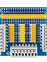 Placa multifuncional de adaptador de protecao de expansao gpio para framboesa pi 3