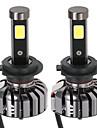 Kkmoon пара h7 dc 12v 40w 4000lm 6000k светодиодные лампы лампа комплект лампочки