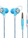 Jy-a6 no ouvido aparelho de fone de ouvido estereo fone de ouvido fone de ouvido com fone de ouvido com controle de fio de trigo fone de