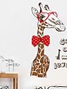 Animais Feriado Lazer Adesivos de Parede Autocolantes 3D para Parede Autocolantes de Parede Decorativos 3D,Papel MaterialDecoracao para