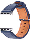 Bande de Montre pour Apple Watch series 1 2 38mm Bracelet en cuir veritable de remplacement 42mm