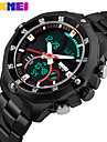 Men\'s Dress Watch Smart Watch Fashion Watch Wrist watch Chinese Digital Calendar Chronograph Dual Time Zones Noctilucent Large Dial