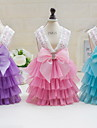 Other Dress Dog Clothes Cute Casual/Daily Wedding Princess Blushing Pink Pool Purple