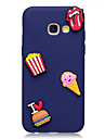 Case For Samsung Galaxy A3 (2017) A5 (2017) Case Cover Ice Cream Pattern Fruit Color TPU Material DIY Phone Case