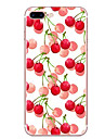 Case For Apple iPhone 7 7 Plus Case Cover Cherry Pattern HD Painted TPU Material Soft Case Phone Case For iPhone 6S 6 Plus