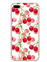 Caso para maca iphone 7 7 mais capa de capa padrao de cereja hd pintado material tpu caso de telefone suave caso para iphone 6s 6 mais