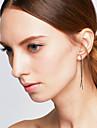 Boucle d\'oreille Alliage Mode Simple Style Forme d\'Animal Or Noir Argent Bijoux Mariage Soiree Halloween Quotidien Decontracte 1 paire