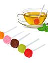 Lollipop Silicone Sweet Tea Infuser Candy Loose Leaf Mug Strainer Cup Steeper for Tea Coffee Random Color