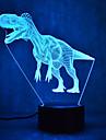 Christmas Dinosaur Touch Dimming 3D LED Night Light 7Colorful Decoration Atmosphere Lamp Novelty Lighting Christmas Light