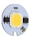 9w круглый cob led chip smart ic ac 220v для diy потолочный светильник downlight прожектор теплый / холодный белый (1 шт)