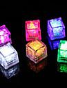 алмаз льда формы фиолетовый свет водить (12-Pack)
