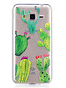 Case For Samsung Galaxy J3 J3 (2016) Case Cover Cactus Pattern Painted High Penetration TPU Material IMD Process Soft Case Phone Case J5 (2016)