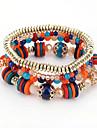 Femme Bracelets de rive Mode Boheme Plastique Forme Ronde Bijoux Pour Anniversaire Fete/Soiree Quotidien