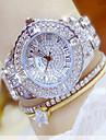 Mulheres Relogio Elegante Relogio de Moda Relogio de Pulso Bracele Relogio Unico Criativo relogio Relogio Casual Simulado Diamante