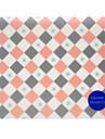 Молодежная площадь tr-af18547 темперамент геометрия коврик для мыши водонепроницаемый износоустойчивый 22,5 * 19,5 * 0,5 см