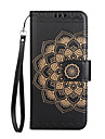 Case for Sony Xperia XA1 XA1 Ultra Case Cover Card Holder Wallet Flip Embossed Pattern Full Body Case Mandala Flower Hard PU Leather for Sony XA XP Z5