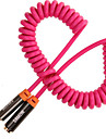 SAMZHE YPX-87303.5mm Cable 3.5mm to 3.5mm Cable Male - Female Gold-Plated Copper 3.0m(10Ft)