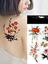 5pcs Tatuagens Adesivas Outros nao toxica / A Prova d\'aguaFeminino Flash do tatuagem Tatuagens temporarias