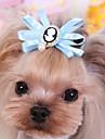 고양이 / 개 나비 매듭 / 헤어 악세서리 레드 / 블루 / 핑크 강아지 의류 모든계절/가을 웨딩 / 코스프레