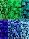 Approx 500PCS/Bag 5MM Fuse Beads Hama Beads DIY Jigsaw EVA Material Safty for Kids(Assorted 6 Color,B25-B33)