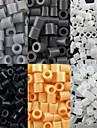 environ 500 pièces / sac 5mm perles perles fusibles hama bricolage puzzle eva matériel safty pour les enfants (6 assortis couleur, b44-b50)