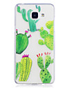 Case For Samsung Galaxy A3 (2017) A5 (2017) Case Cover Cactus Pattern Painted High Penetration TPU Material IMD Process Soft Case Phone Case