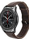 Pour hoco samsung gear s3 frontiere bracelet classique bracelet en cuir veritable montre remplacement smartwatch bracelet bracelet