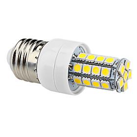E27 4W 320LM 34x5050SMD 6000-6500K Blanc Naturel Ampoule de maïs LED (220-240V)