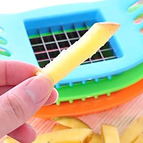 1PCS Stainless Steel Blade Potato Chips Vertical Cutter Chopper Slicer