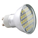 4W GU10 LED Spotlight MR16 27 SMD 5050 220 lm Warm White AC 220-240 V