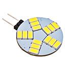 4W G4 LED Doppel-Pin Leuchten 15 SMD 5630 350 lm Natürliches Weiß AC 12 V