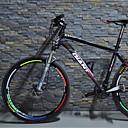 Kühle Art Reflex-Aufkleber für Fahrrad (5 Stück / Packung, mehrfarbig)