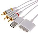 AV-Kabel und USB für iPhone 3G 3GS