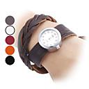 Women's Leather Quartz Analog Wrist Watch (Assorted Colors)