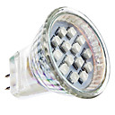 GU4(MR11) 1 W 14 SMD 3528 LM Red MR11 Spot Lights AC 220-240 V