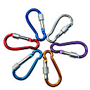8cm Aluminum Alloy Fashion Buckle for Climbing(Random Color)