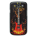 Fashion Guitar Pattern Aluminum Hard Case for Samsung Galaxy S3 I9300
