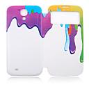 Scrawl Oil Paint Plastic Full Body Case for Samsung Galaxy S4 I9500