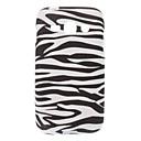 Zebra-Stripe Pattern TPU Soft Back Cover Case for Samsung Galaxy ACE 3 S7272