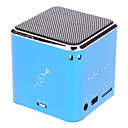 JH-MD06 Micro SD / TF Мини спикер музыки с Micro USB порт / 3.6mm штекер (синий)