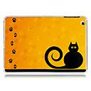 Дело Следы Cat Вернуться Пластик для IPad мини 3, Ipad Mini 2, Ipad мини-