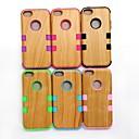 Рисунок древесины Вернуться Футляр Чехол для iPhone 5C (разных цветов)