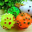 Новый многоцветный Сферические Винил Бал Вокализ Тедди для домашних животных (Random Color)
