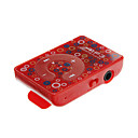 TF Card Reader портативный мини цветочным узором Цифровой MP3-плеер с клипсой