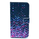 Фиолетовый шаблон Фрагмент PU кожаный чехол для всего тела с карты памяти для Samsung Galaxy I9600 S5